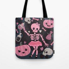 Love Potion Skeleton Dance Tote Bag