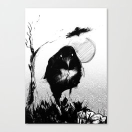 Carrion Bird Canvas Print