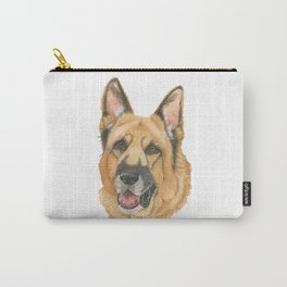 German shepherd - in color Carry-All Pouch