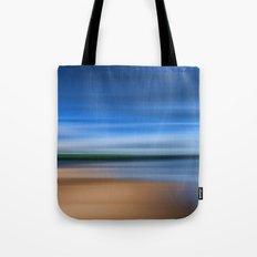 Beach Blur Painted Effect Tote Bag