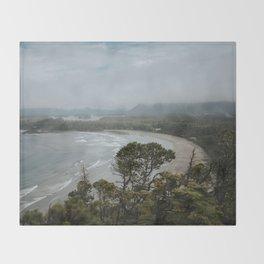 Cox Bay, Tofino, British Columbia Throw Blanket