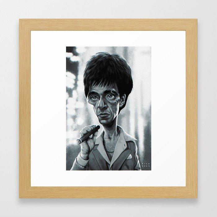 Modern Scarface Picture Frame Component - Ideas de Marcos ...