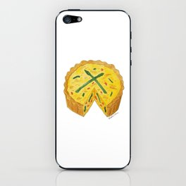 Q is for Quiche iPhone Skin