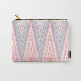Agate Chevron Carry-All Pouch
