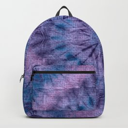 Purple Tie Dye Backpack