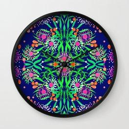 Abstract gumtree Wall Clock