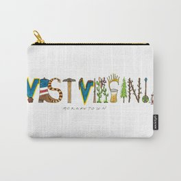 West Virginia - Morgantown Carry-All Pouch