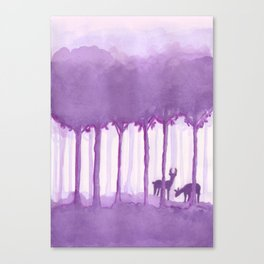 a forest Canvas Print