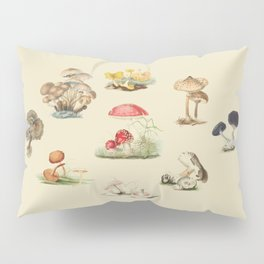 British Mycology Pillow Sham