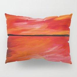 ORANGE SEASCAPE Pillow Sham