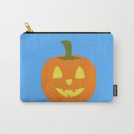 Classic light Halloween Pumpkin Carry-All Pouch