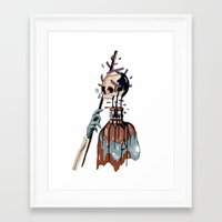 native Framed Art Prints featuring Native  by PAFF