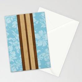 Sunset Beach Hawaiian Surfboards Stationery Cards