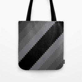 Pixel Old Hollywood Dremas - Monochrome Grey Tote Bag