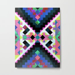 Hana Geometric Metal Print