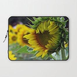 Sunflower Unfolds Laptop Sleeve