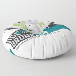 Doc Brown_INK - Back to the Future Floor Pillow