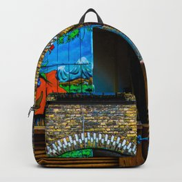 Denmark Graffiti Door Backpack