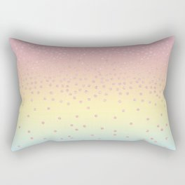 Cute confetti dots Rectangular Pillow