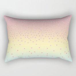 Cute confetti dots Rectangular Pillow