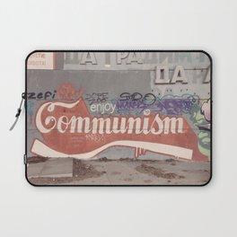 Enjoy communism grafiti Laptop Sleeve