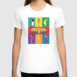 pushing daisies characters T-shirt