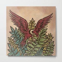 The Guardian Eagle Metal Print