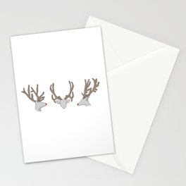Reindeer Noses Stationery Cards