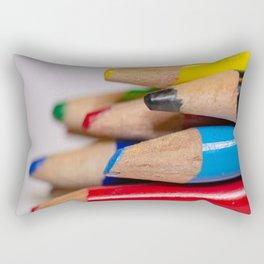 Pencils-3 Rectangular Pillow