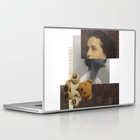 teddy bear Laptop & iPad Skins featuring Teddy by KatinkaHanselman