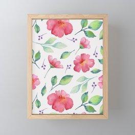 Floral pattern 3 Framed Mini Art Print