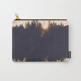 Wooded Lake Reflection  - Nature Photography Carry-All Pouch