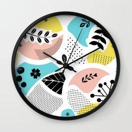 Spring Dreamin' Wall Clock