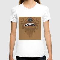 chewbacca T-shirts featuring Chewbacca - Starwars by Alex Patterson AKA frigopie76