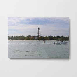 Swinging by Sanibel Metal Print