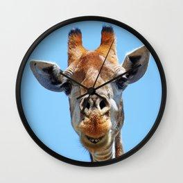 The Giraffe - Africa wildlife Wall Clock