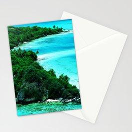 Tahiti Motu (Island) in French Polynesia Stationery Cards