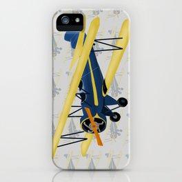 Bi-Plane - Fleet Model iPhone Case