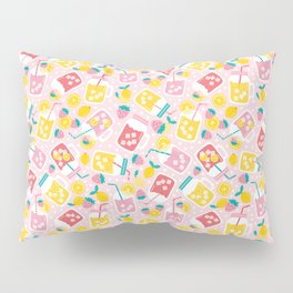 Pink Lemonade Pillow Sham