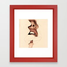 all the lovers Framed Art Print