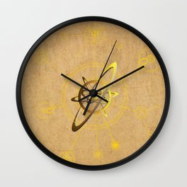 aNu Aureum Universo Wall Clock