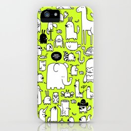 All the Beasts, Imagined and Real iPhone Case