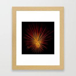 Fireburst Framed Art Print