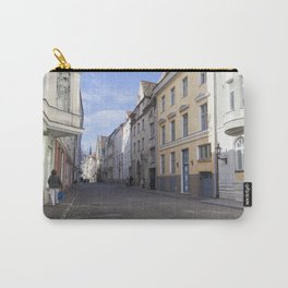 Streets of Tallinn Estonia Carry-All Pouch