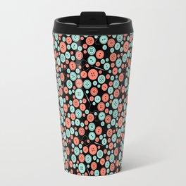 Sew Many Buttons Travel Mug