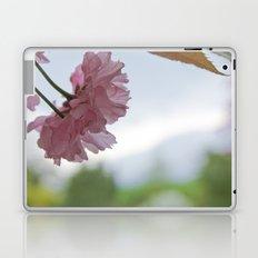 Pink Flowers Laptop & iPad Skin