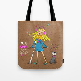 Dogs Are Joy Tote Bag