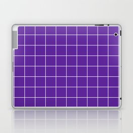 Grape Grid Laptop & iPad Skin