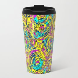 Abstract HJ YY Travel Mug