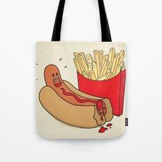 Fast Food Massacre Tote Bag